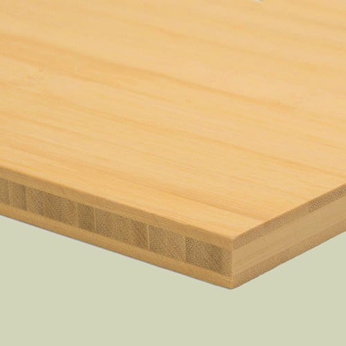 bambusplatte 16mm natur horizontal