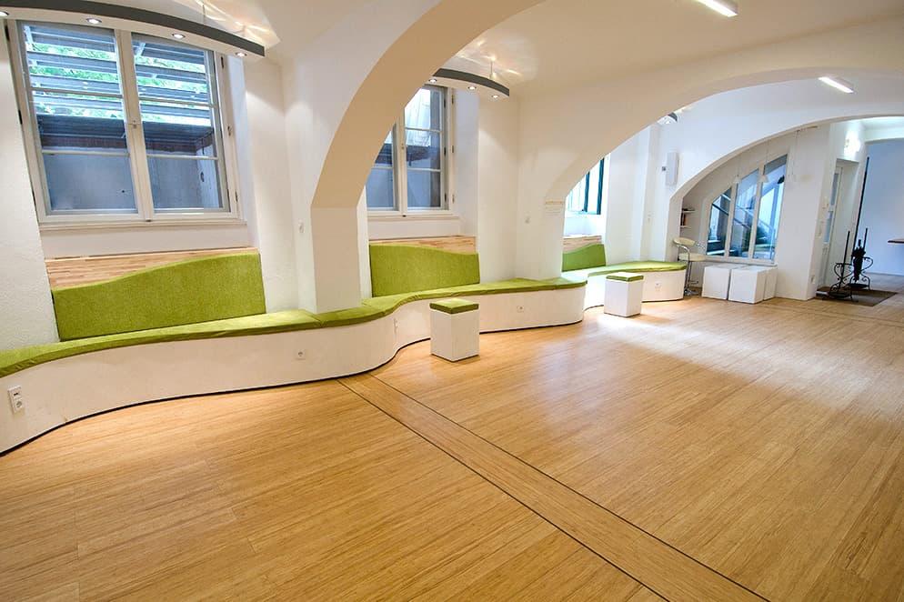 Bambusparkett Gallerie Oranienburger Strasse Berlin