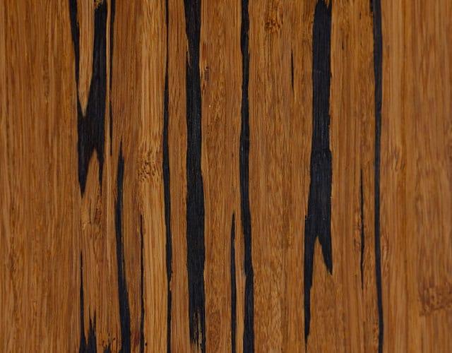 Bambusparkett Tigerbambus Karamell gestreift