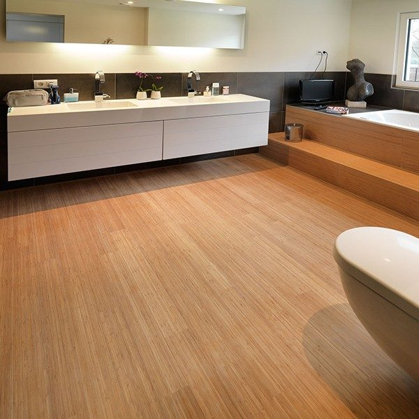 bambusparkett badezimmer