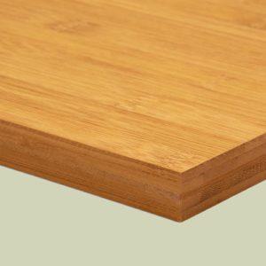 Bambusplatte Karamell horizontal 20mm 5-Schicht