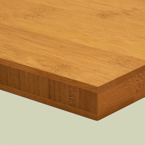 bambusplatte 25mm karamell horizontal