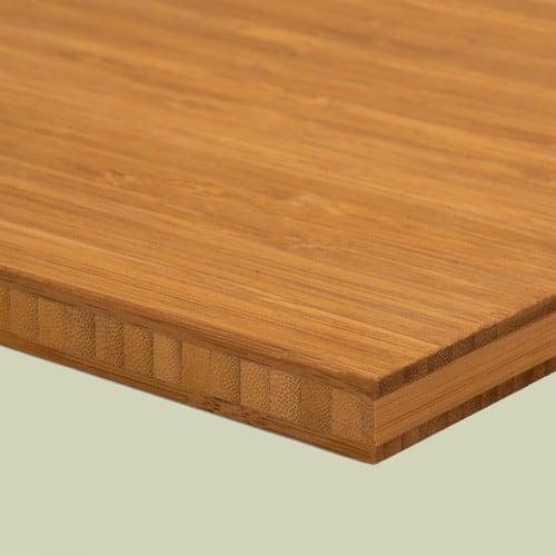 bambusplatte 16mm karamell vertikal