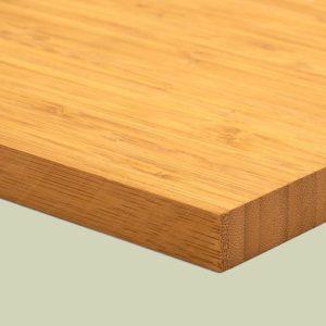 Bambusplatte Karamell vertikal 19mm 1-Schicht
