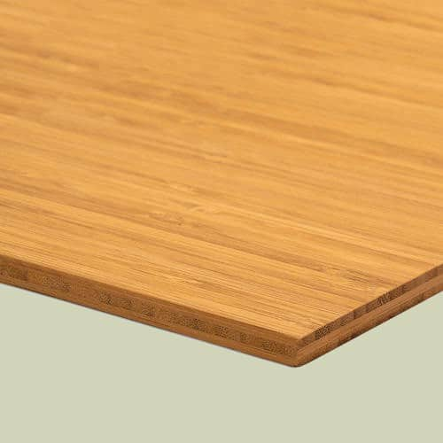 Bambusplatte Karamell vertikal 7mm 3-Schicht