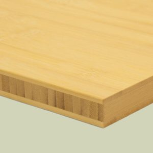 bambusplatte 20mm natur horizontal