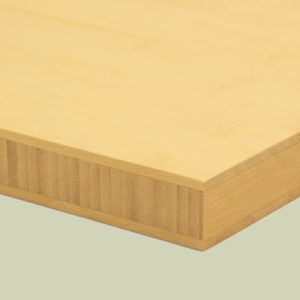 bambusplatte 25mm natur horizontal