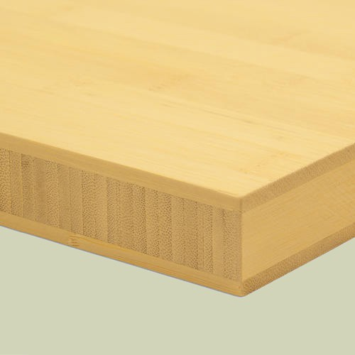 bambusplatte 30mm natur horizontal