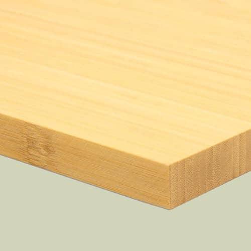 Bambusplatte Natur vertikal 19mm 1-Schicht