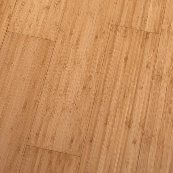 Bambusparkett Klickparkett Karamell vertikal matt lackiert