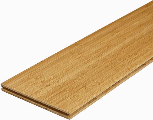 Bambusparkett Landhausdiele Karamell vertikal